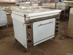 Плита промышленная кухонная ЭПК с духовым шкафом
