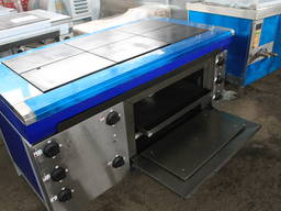 Плита промышленная ЭПК-6ШБ от производителя с духовкой