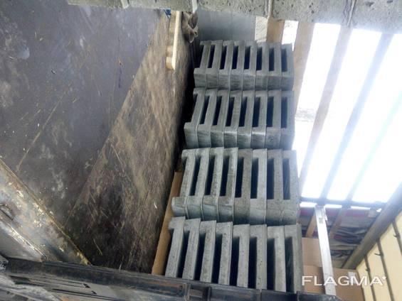 Плита щелевого пола 1500х500 купить со склада качество