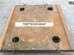 Плита СМД-111распорная задняя 3440.00.009(3442.00.003.0.023)