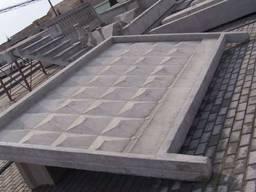 Плита заборная ЗП 400-8 (4м)