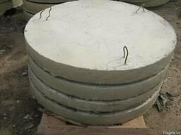 Плита ж/б для круглого колодца ∅ВН-1500мм h-100мм ПН-10