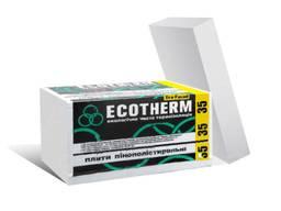 Плити пінопласт EKOTERM 35 Eko Fasad, EPS 40, в/а 10,5 кг