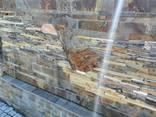 Плитка фасадная из натурального природного камня сланец - фото 1