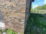 Плитка фасадная из натурального природного камня сланец - фото 4