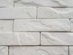 Плитка гипсовая 215х50 (63шт/0, 7кв. м в уп), Марсель белый