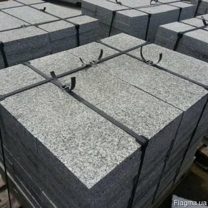 Плитка гранитная (плиты мощения) термообработанная