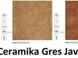 Плитка Java krem, beż, brąz Ceramika Gres