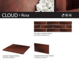 Плитка клинкер Ceramika Paradyz Cloud Rosa, Cloud Brown - фото 3