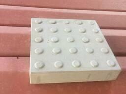 Плитка тактильна бетонна Бетон Прайм