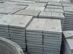 Плитка тротуарная 1000*500 6п8 , 6п5 бетонная