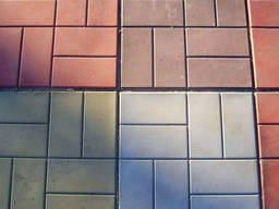 Плитка вибролитая 400*400*50 в асортименте цвет