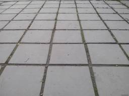 Плитка тротуарная вибролитая 500х500х50
