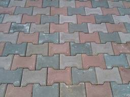 Плитка тротуарная Катушка (двойное Т)
