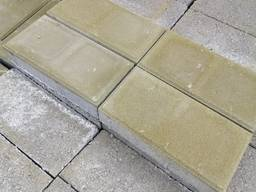 Плитка тротуарная кирпич 10*20* 6 см