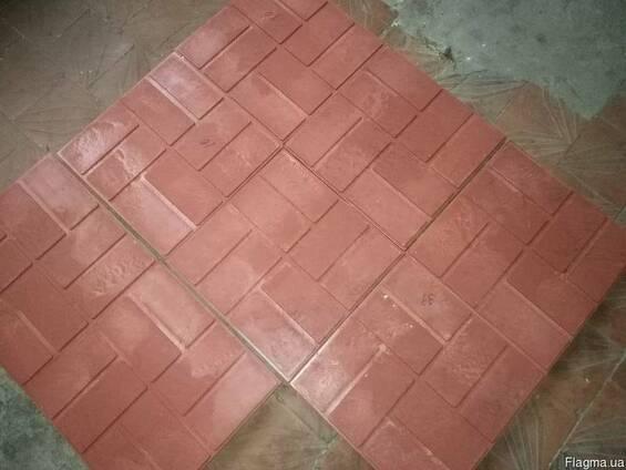 Плитка тротуарная , Песчано-полимерная