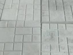 Плитка вібролита 250*250*25 в асортименті колір