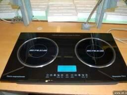 Плиты индукционные электрические двухконфорочные