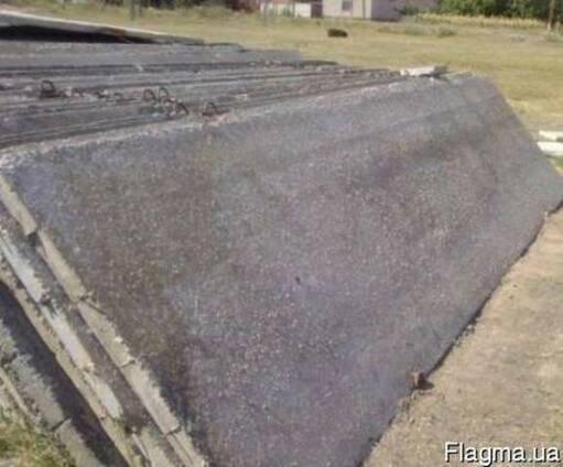 Плиты канальные заборные (б/у)