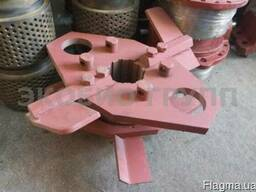 Плиты крепления роликов гранулятора ОГМ 1,5