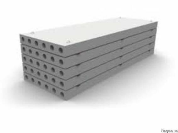 Плиты многопустотные от ПК22-12-8 до ПК74-12-8