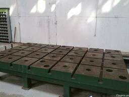 Плиты монтажно-сборочные стендовые 3500*2000 м