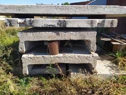 Плиты перекрытия бетонные, противовес и др.