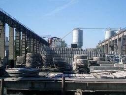 Плиты перекрытия (крышки) колодцев ПП 15-1, ГОСТ 8020-90.