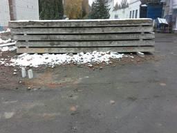 Плиты перекрытия пустотные б/у
