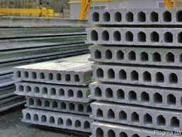 Плиты перекрытия железобетонные 7, 3-9 м