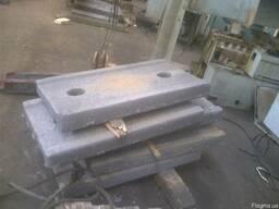 Плиты распорные к дробилке СМД - 111 ( СМД 111 ) .