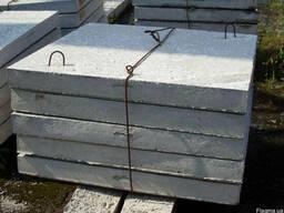 Плиты ж/б тротуарные 6П6-1 1000х1000х60мм