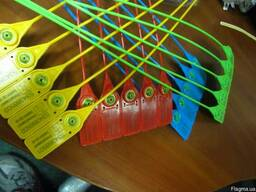 Пломба номерная пластиковая Стрела (рабочая длина 220мм)