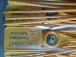 Пломбы номерные охранные. Желтая-44 см