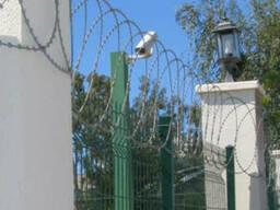 Плоский спиральный барьер безопасности Егоза 450 (11 пог. м. )