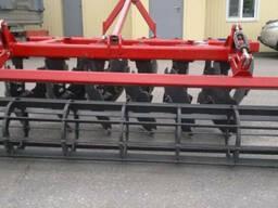 Плуг навесной тракторный дисковый ПДЛ-2. 3 для мтз