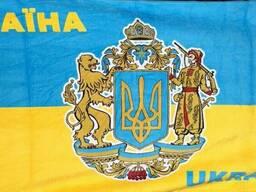 """Пляжное полотенце """"Флаг Украины"""""""
