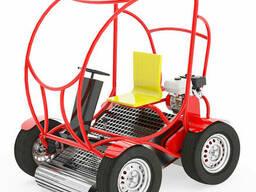 Пляжеуборочная машина RMZ SM-4, Машина для очистки песка. ..