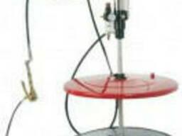 Пневматическая установка для смазки под емкость 180-200 л