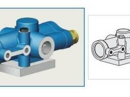Пневмоуправляемый гидравлический клапан c вентилем - фото 2