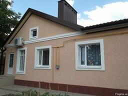 Утепление фасадов пенопластом Покраска Побелка Шпаклевка