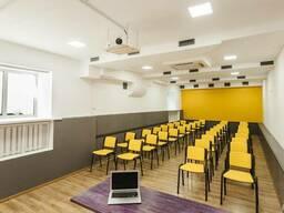 Почасовая аренда конференц-зала Киев 60 метров, метро КПИ