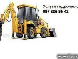 Почасовая аренда спецтехники, Самосвалы, автокраны Киев.