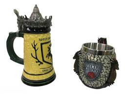Подарочный набор Кружка Game Of Thrones House Герб Баратеонов Игра Престолов и Fire And. ..