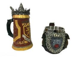 Подарочный набор Кружка Game Of Thrones House Lannister и Кружка Fire And Blood. ..