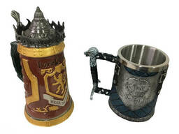 Подарочный набор Кружка Game Of Thrones House Lannister и Кружка King In The North. ..