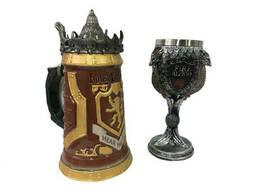 Подарочный Набор Кружка Game Of Thrones House Lannister Stein Игра Престолов Дом. ..