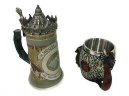 Подарочный набор Кружка Game Of Thrones House Stark Игра Престолов Дом Старков и Fire. ..
