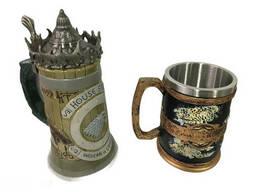 Подарочный набор Кружка Game Of Thrones House Stark Игра Престолов Дом Старков и Кружка. ..