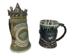 Подарочный набор Кружка Game Of Thrones House Stark Игра Престолов Дом Старков и Winter. ..